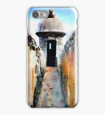 Gun Turret, Puerto Rico iPhone Case/Skin