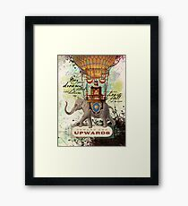Onward and Upwards Framed Print