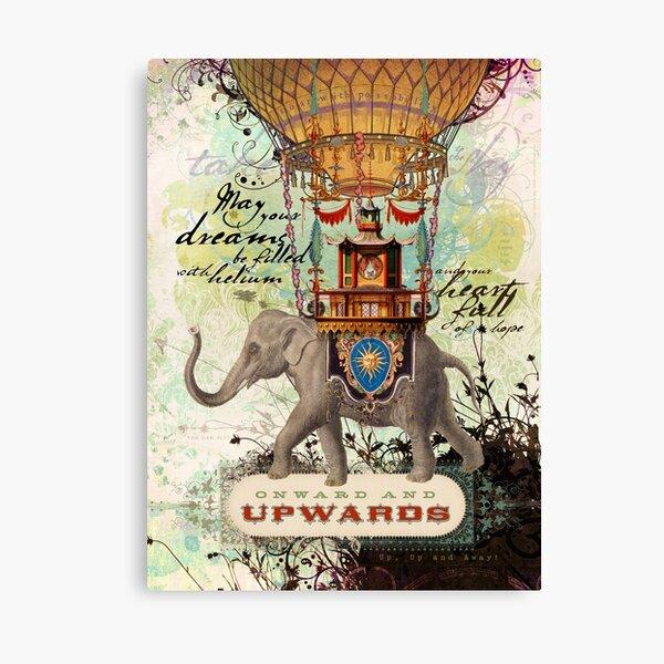 Onward and Upwards Canvas Print