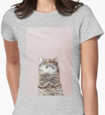 Beautiful cat looking up T-Shirt