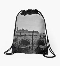Gondolas Drawstring Bag