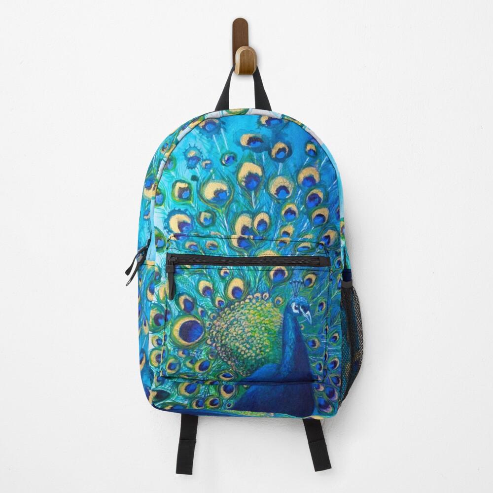 Full Glory Peacock Backpack