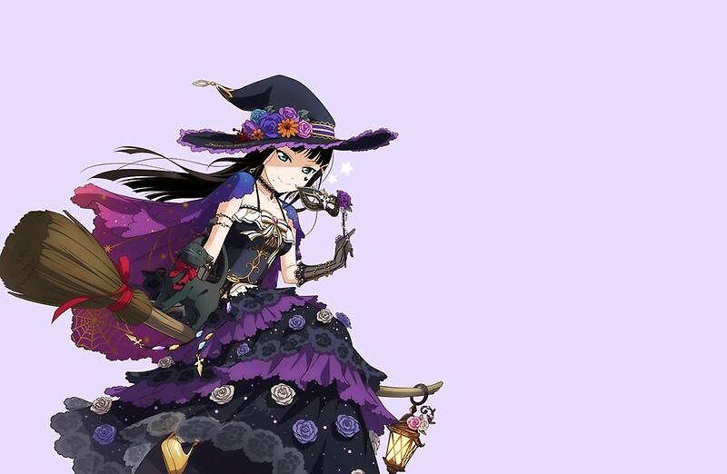 kurosawa dia halloween idlz by nishiqueeno - Halloween Dia