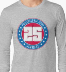Philadelphia - Ben Simmons #25 Long Sleeve T-Shirt