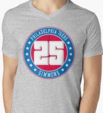 Philadelphia - Ben Simmons #25 Men's V-Neck T-Shirt