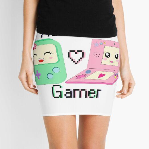 Adorable Gamer ~ Devices Mini Skirt
