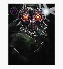Legend of Zelda Majora's Mask Dark Link Photographic Print