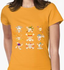 one piece symbol Womens Fitted T-Shirt