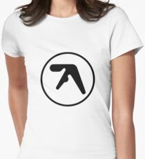 Aphex Twin Logo Women's Fitted T-Shirt