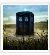 Blue Box - Splash Down Sticker