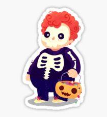 Halloween Kids - Skeleton Sticker