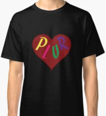 Live The PLUR Life Classic T-Shirt