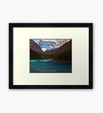 Lake Ohara Framed Print