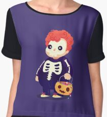 Halloween Kids - Skeleton Women's Chiffon Top
