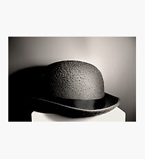 Bowler Hat Photographic Print