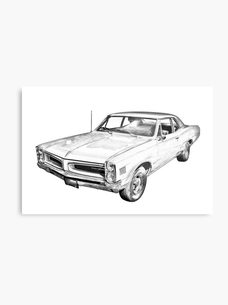 Vintage Pontiac Cars