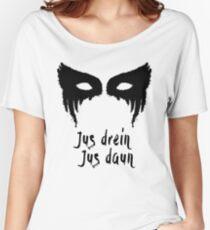 Lexa Jus drein jus daun Women's Relaxed Fit T-Shirt