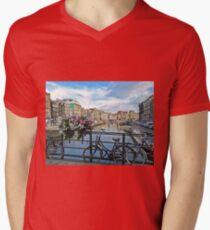 Amsterdam Men's V-Neck T-Shirt