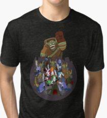 Castle Crashers 4 Swords Style Tri-blend T-Shirt
