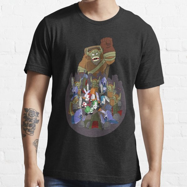 Castle Crashers 4 Swords Style Essential T-Shirt