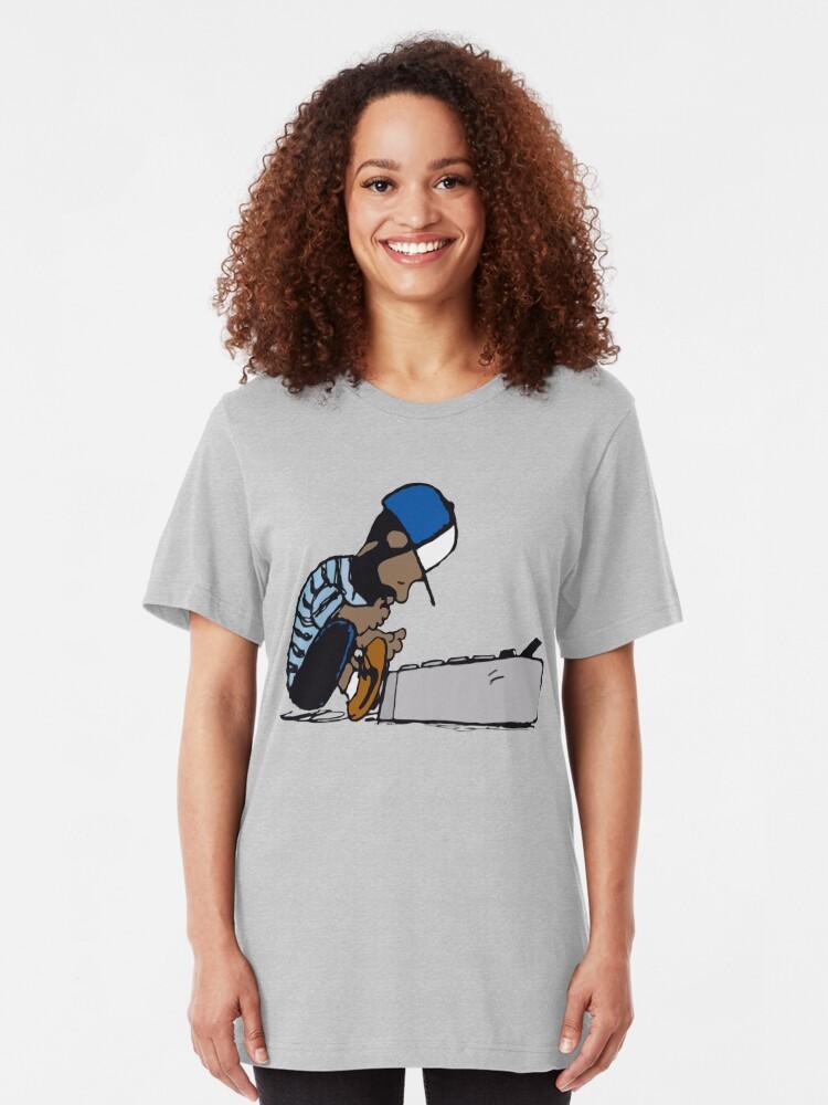 J Dilla Design   Slim Fit T-Shirt