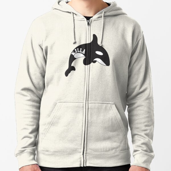 Killa Whale Zipped Hoodie