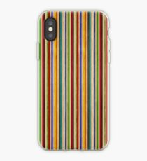 Recycled Skateboard Rainbow Texture iPhone Case