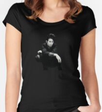 Tom Waits  Women's Fitted Scoop T-Shirt