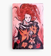 Emma the Mourning Doll Canvas Print