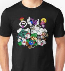 Luigi's Paper Mansion Color Ver. T-Shirt