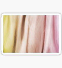 Blurry silk cotton textured cloth Sticker