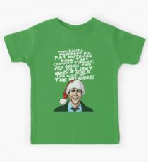 Griswold alternative Christmas card Kids Tee