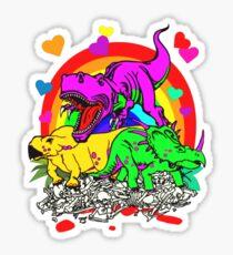 Apex Barney Sticker