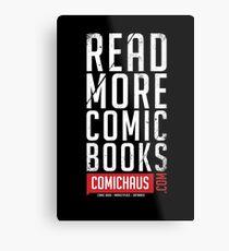 Read More Comic Books - Comichaus  Metal Print