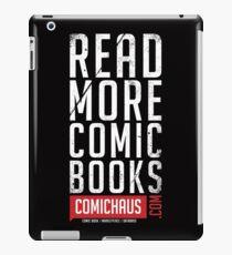 Read More Comic Books - Comichaus  iPad Case/Skin