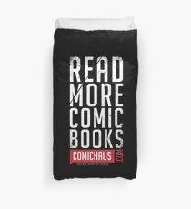 Read More Comic Books - Comichaus  Duvet Cover