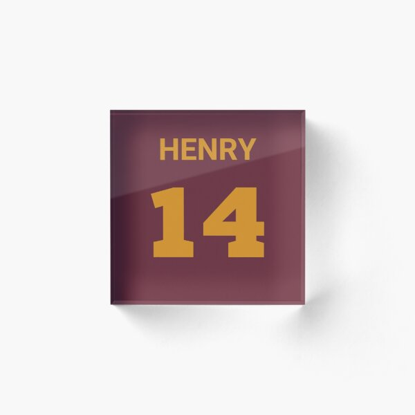 Thierry Henry Shirt - Jersey 14 Iphone Cover Case Acrylic Block
