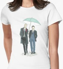 Umbrella Mormor Women's Fitted T-Shirt