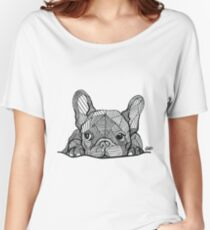 French Bulldog Puppy Women's Relaxed Fit T-Shirt