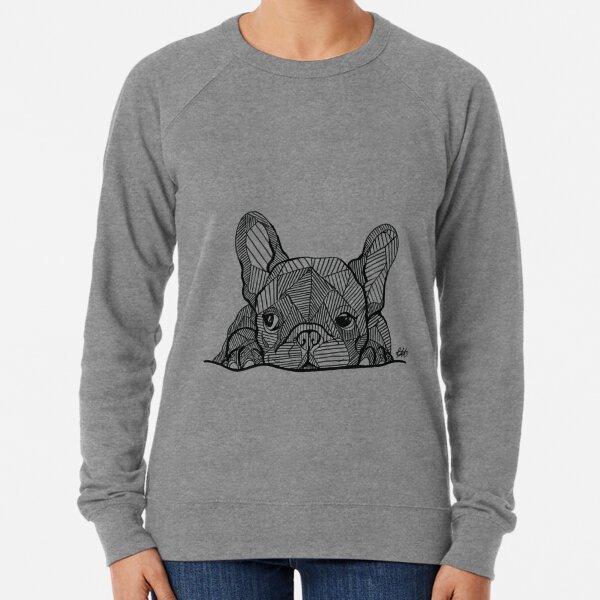 French Bulldog Puppy Lightweight Sweatshirt