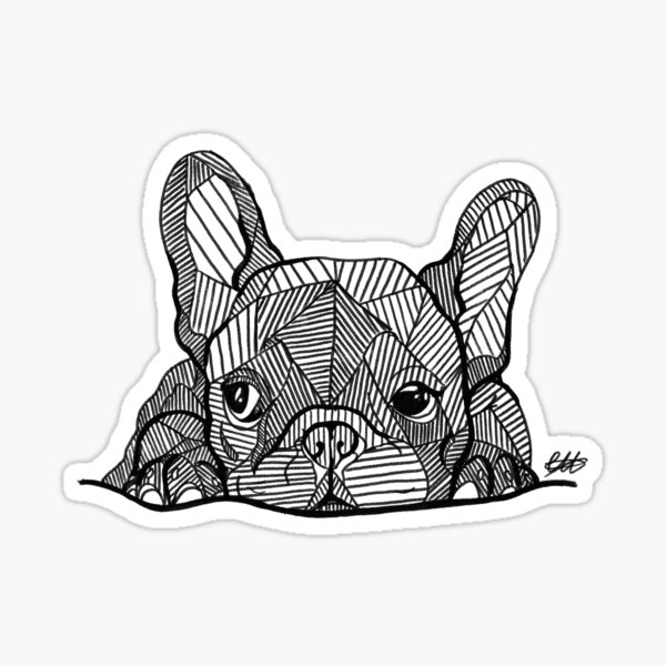 French Bulldog Puppy Sticker