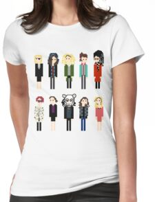 Pixel Clones - 10 Womens Fitted T-Shirt