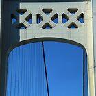 Mackinac Bridge Detail 10 by marybedy