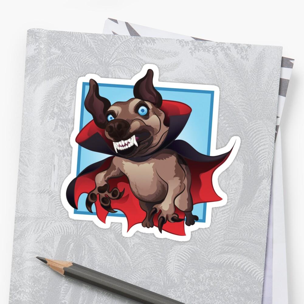 Count Dogula Sticker