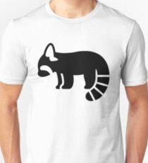 Red Panda Silhouette T-Shirt