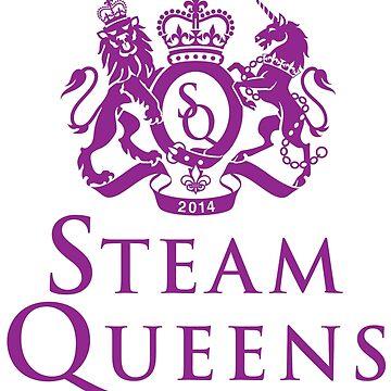 Steam Queens Design 01 Pink by areid89
