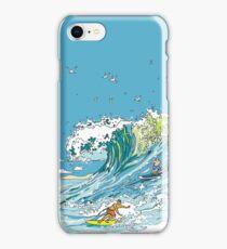 Surfing in Tofino iPhone Case/Skin