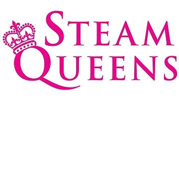 Steam Queens Design 02 Pink by areid89