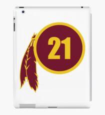 Sean Taylor Redskins Logo iPad Case/Skin
