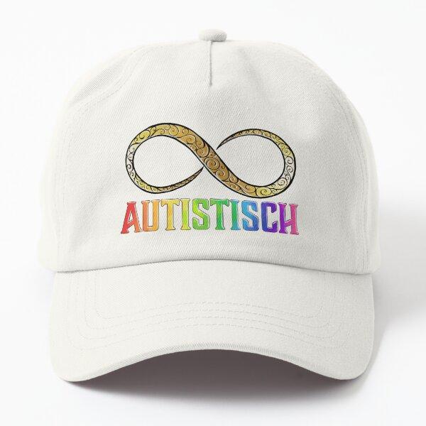 Autistisch - met gouden infinity Dad Hat